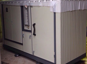 Dry screw compressor 1 100 m3/h, Aerzen VM