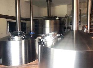 Stroje pro výrobu vína, piva nebo alkoholu Esau & Hueber Complete Brewhouse