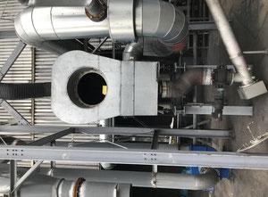 Allgaier WS-T-0.60.3.00 Secador de lecho fluido