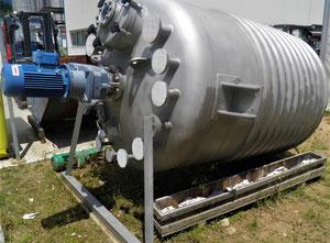 Caldereria Teruel Reaktor Modell R-004 3500 Liter in EX-Ausführung mit Rührwerk