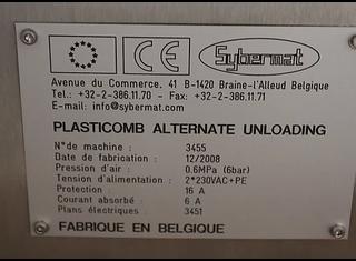 Sybermat PLASTICOMB P00703007