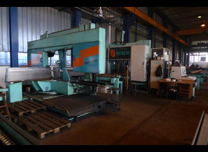 RUSCH 800/1000G band saw for metal