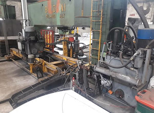 Maszyna do obróbki blach Boldrini PAO 300 & MSF/T 45 x 4800