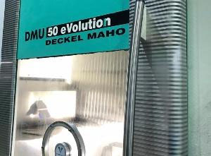 Centro di lavoro 5 assi usato Deckel Maho DMU 50 Evolution