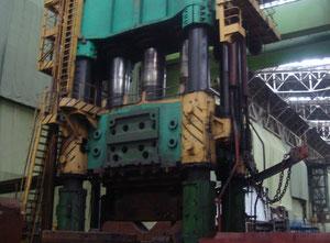 Open die hydraulic forging press - 10000 ton