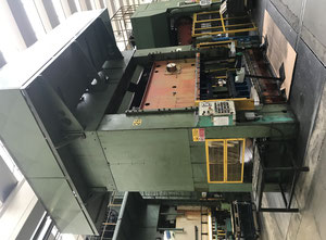 Used Erfurt PKZIV III double sided mechanical Stamping press
