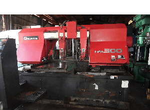 Amada HFA500 band saw for metal