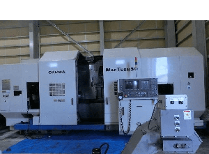 Torno cnc Okuma MAC TURN50