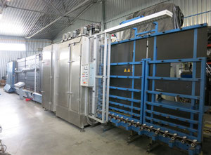 Lisec Line 2000 mm Стеклообрабатывающее оборудование для изоляции