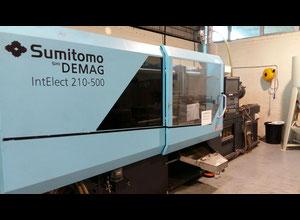 Sumitomo-Demag IntElect 210/580-500 Eine elektrische Spritzgießmaschine