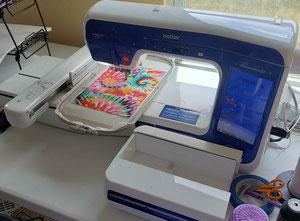 Brother XE VM6200D Embroidery machine