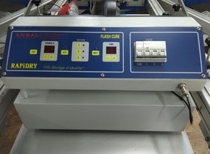 Máquina de serigrafía Ansal Co Rapidry FC 5070