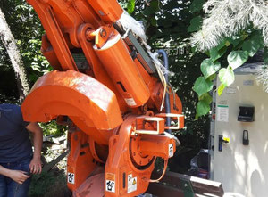Used ABB IRB 6400 M96 Industrial Robot