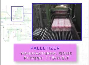 Paletizační stroj Ocme OCME 115/N/S/F