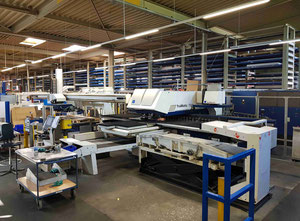 Trumpf Trumatic 7000 K02 Combining machine laser / punch