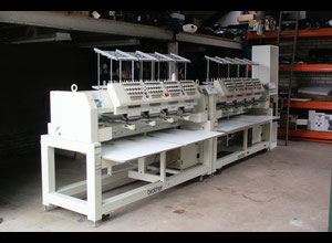 2x Brother BE-1204-B BC PC Embroidery machine (EXCHANGE single head machine possible)