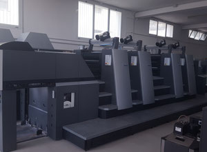 Used Heidelberg CD 74-4+P3-C Offset four colours