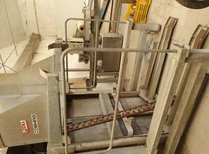 Machine de découpe, lavage et blanchiment de fruits et légumes Sicma b21
