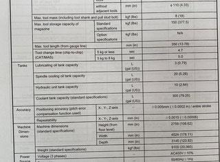 Mazak VTC 200 C P00731098
