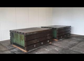 Box Tables Cast Iron 2000 X 1500 X 800 Mm - P00731128
