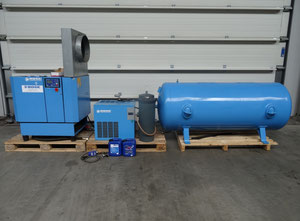 BOGE S10 Oiled screw compressor