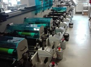Used Lombardi Flexoline 330 Label printing machine