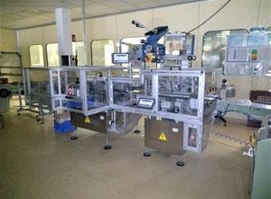Etipack Sistema 2 Haftetikettiermaschine zum Aufbringen von Sicherheitsetiketten (Tamper Evident) auf Faltschachteln