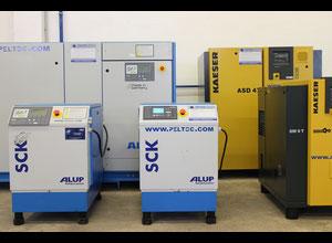 Compresseur à vis lubrifiée Alup SCK 10-10