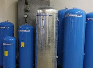 Centrale d'air Compressed Air Tanks 100 - 40 000L
