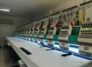 Tajima TFGN-1215 Stickmaschine