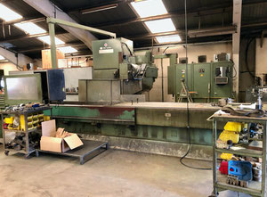 TOS FSS80 cnc vertical milling machine