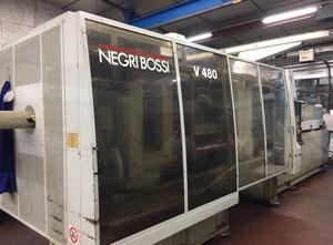 Enjeksiyon kalıplama makinesi Negri Bossi 480T CANBIO V