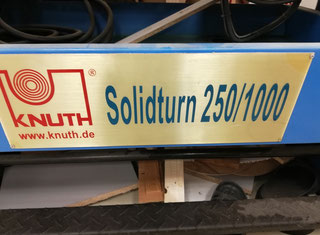 Knuth SOLIDTURN 250/1000 P00817069
