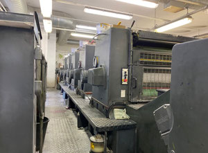 Offset cinco colores Heidelberg SM 102-5 P