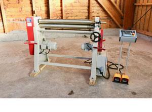 Akyapak AS 90-10 / 3.0 Plate rolling machine
