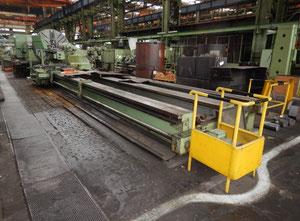 Skoda S2100x 10000 mm heavy duty lathe