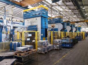 Linea contenente 4 pezzi di presse a manovella SMERAL LKT 250
