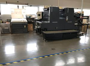 Impresora Heidelberg MOZP