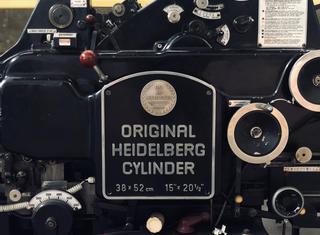 Heidelberg HEIDELBERG KS, Cylinder Press, 38 X 52 Cm P00903135