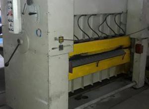 VEB Blema Gotha UBR 2 x 1600 straightening machine