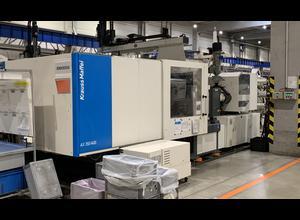 Injection molding machine Krauss Maffei KM 350-1400AX full electric