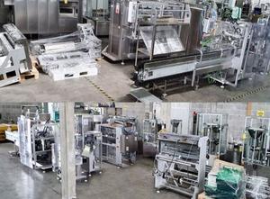 Máquina para el procesamiento de alimentos Universal Pack Full Line: ALFA G20C STICK, PACK R80/V, DELTA 120 HORIZONTAL CARTONER, HERMA H40