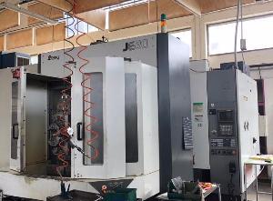 Centro di lavoro orizzontale usato Enshu JE80