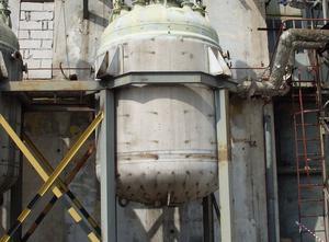 Enamel reactor 16000 L Tank