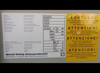 Weinig Unimat 300 P00914056