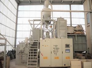 Máquina de plástico Plasmec TRM 500 / AG turbomixer