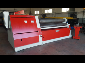 Akyapak AHSY 330x2600 mm 4 rolls plate rolling machine