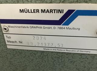 MULLER MARTINI PROGRESS 520 P00921016