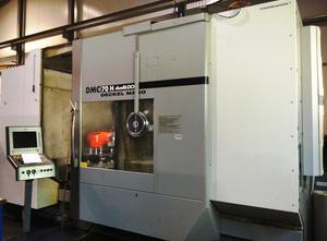 Centre d'usinage horizontal DMG  DMC 70 H Duoblock