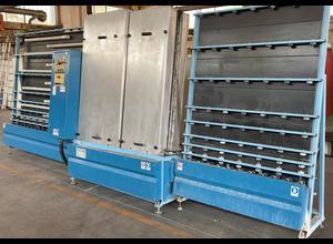 Stefiglas 1600 Sprint 3/20 Glaswaschmaschine / Glasbeschichtungsmaschine